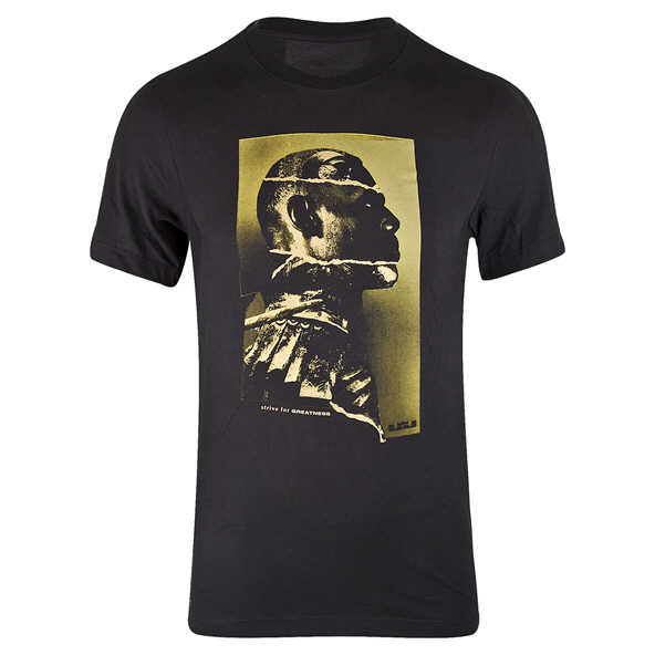 Nike LeBron James Leader Dry Men's T-Shirt Black