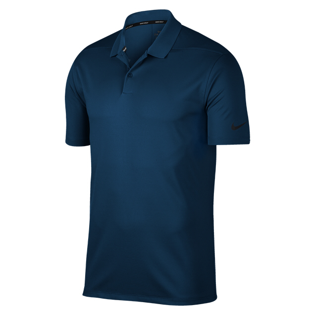 Nike Golf Victory Solid Dry Polo, Navy