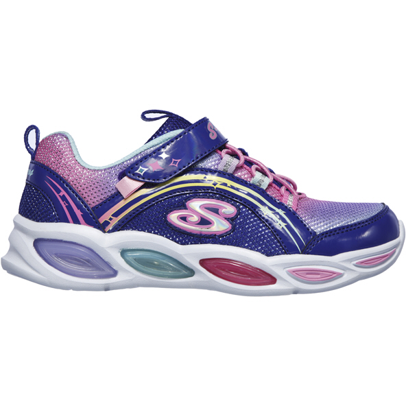 Skechers Shimmer Beams Junior Girls' Trainer, Blue
