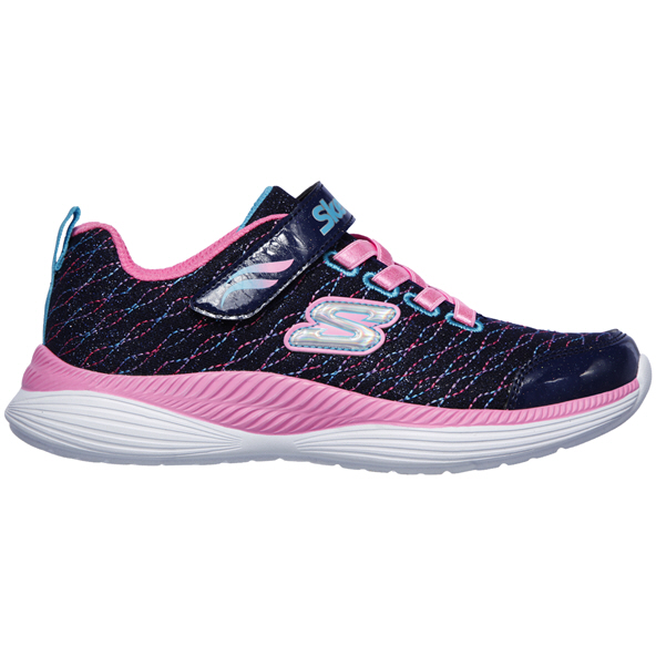 Skechers Move 'N' Grove Junior Girls' Trainer, Blue