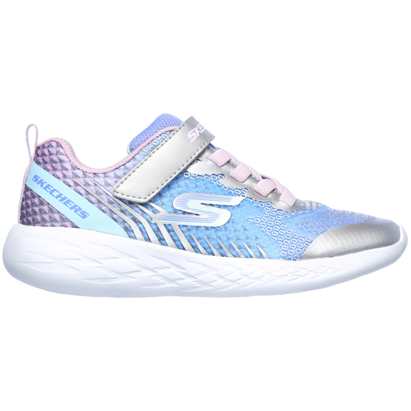 Skechers GOrun 600™ Junior Girls' Trainer, Silver