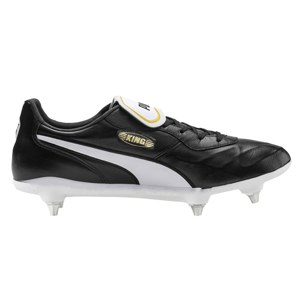 Puma King Top SG Black/White