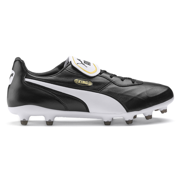 Puma King Top FG Black/White