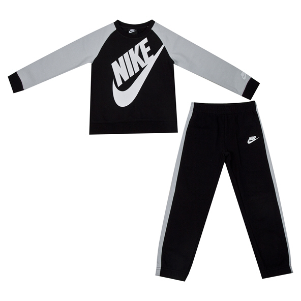 Nike Futura Oversize Crew Junior Boys' Set Blk