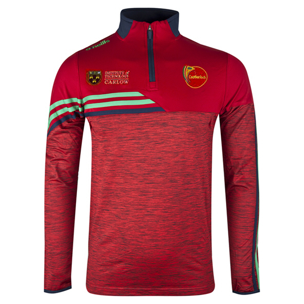 O'Neills Carlow Nevis ½ Zip Brushed Top, Red