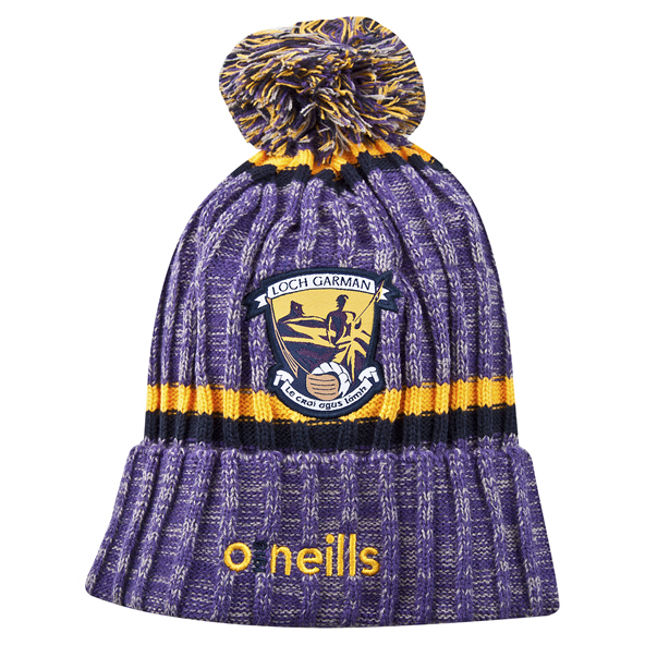 O'Neills Wexford Nevis Bobble Hat Purple