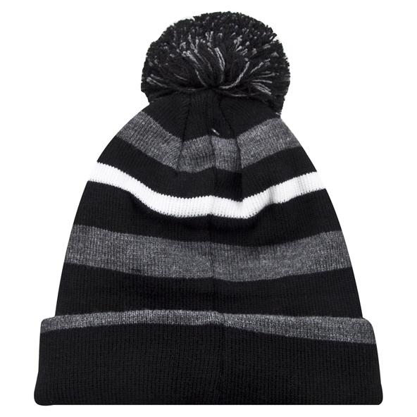 Riptear Stripe Boys Beanie Black/Grey