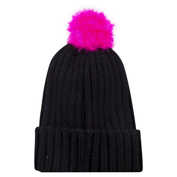 Riptear Girls Beanie Black/Purple