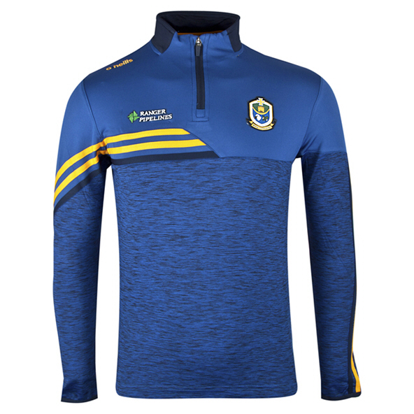 O'Neills Roscommon Nevis ½ Zip Brushed Top, Blue