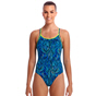 Funkita Wild Hide Diamond Back Women's Swimwear Blue