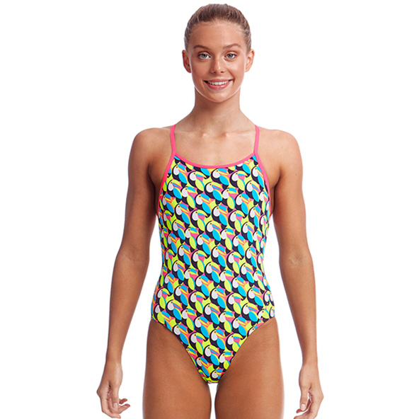 Funkita Diamond Eco Girls Swimwear Multi