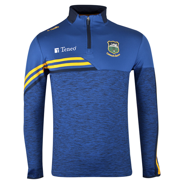 O'Neills Tipperary Nevis ½ Zip Brushed Top, Blue