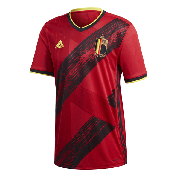 adidas Belgium 2020  Home Jersey, Red