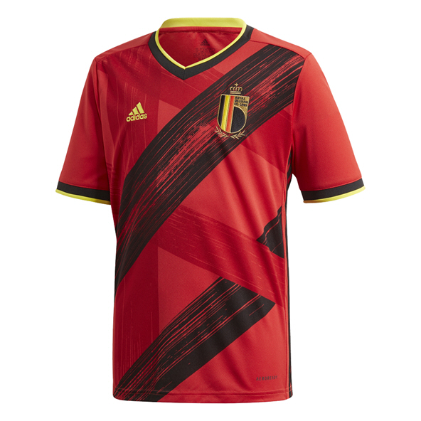 adidas Belgium 2020 Home Kids' Jersey, Red