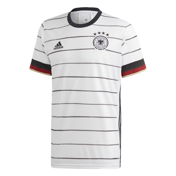 adidas German 2020 Home Jersey, White
