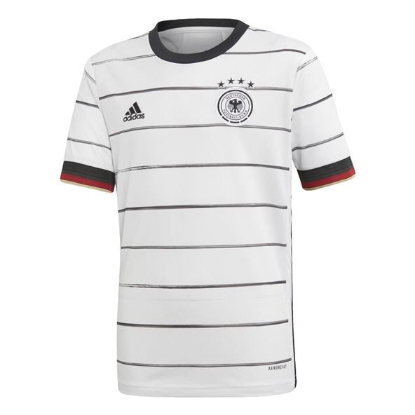 adidas German 2020 Home Kids' Jersey, White