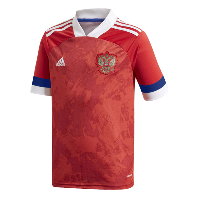 ADIDAS RUSSIA 2020 HOME KIDS' JERSEY, RED