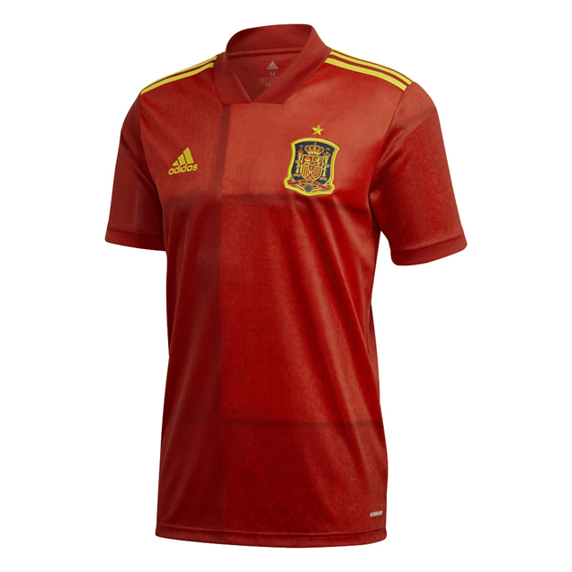 adidas Spain 2020 Home Jersey, Red
