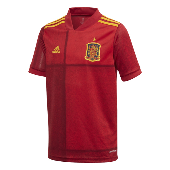 adidas Spain 2020 Home Kids' Jersey, Red