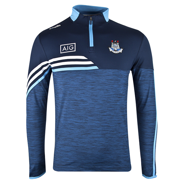 O'Neills Dublin Nevis ½ Zip Brushed Top, Navy