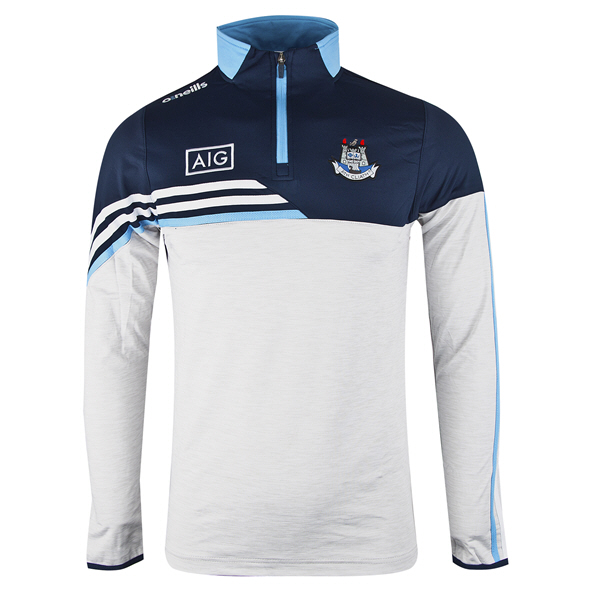 O'Neills Dublin Nevis ½ Zip Brushed Top, White