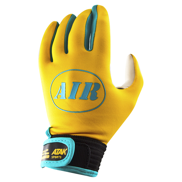 ATAK Sports Air Kids' Glove, Yellow