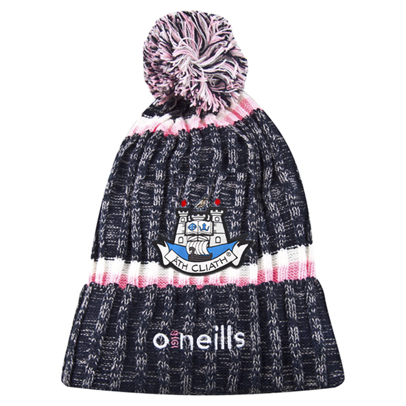 O'Neills Dublin Ladies Bobble Hat Navy