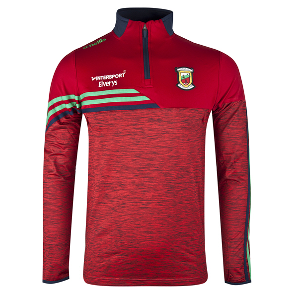 O'Neills Mayo Nevis ½ Zip Brushed Top, Red