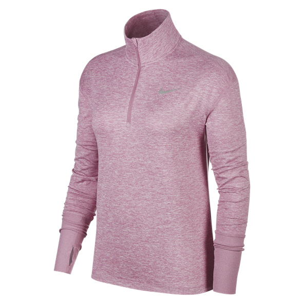 Nike Element Women's ½ Zip Running Top, Flamingo