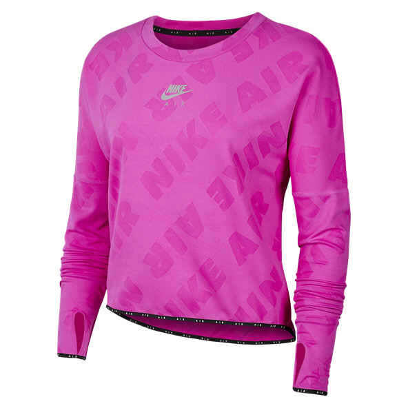 Nike Air Women's Midlayer Crew Top, Pink