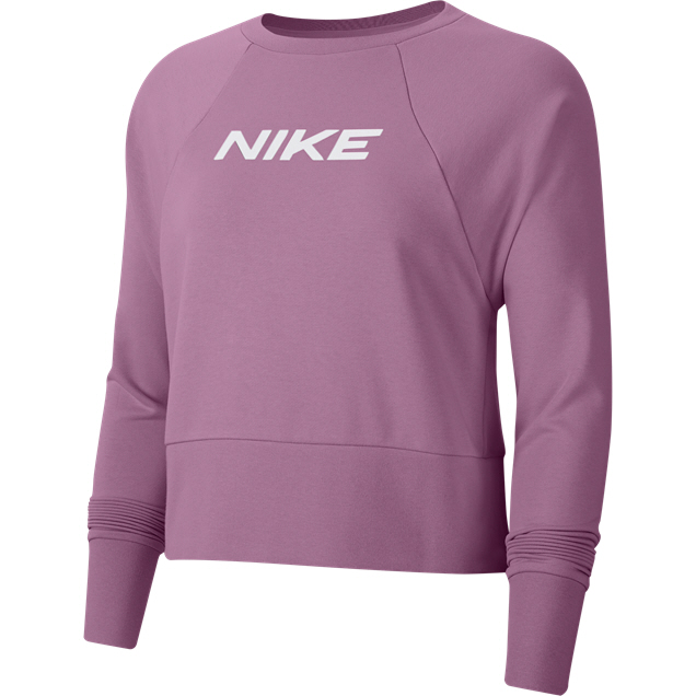 Nike Dry Get Fit Women's Crew Flamingo