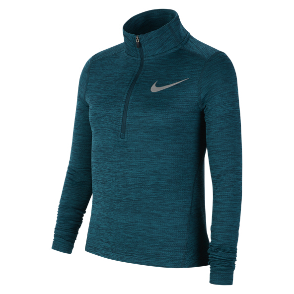 Nike Run Girls' ½ Zip Running Top, Turquoise