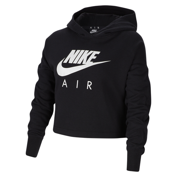 Nike Air Swoosh Girls' Hoody, Black