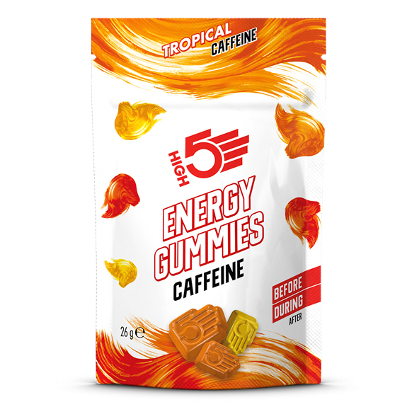 High 5 Energy Gummies Tropical Caffeine