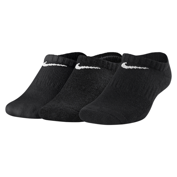 Nike Evry Cush NS 3 Pack Kids Sock Blk