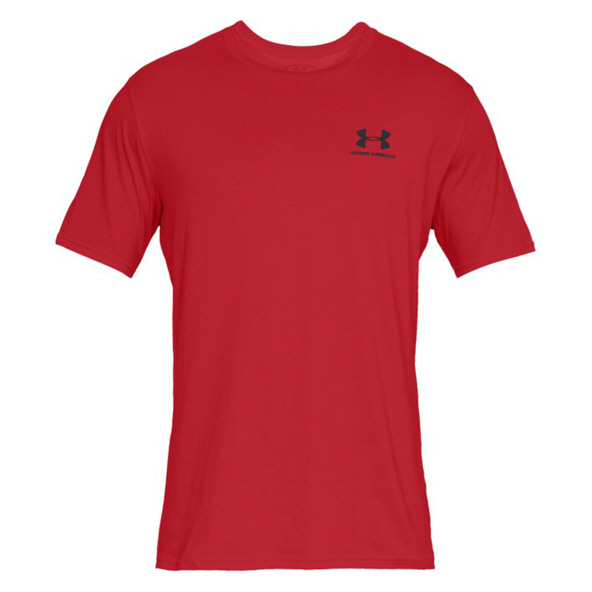 Under Armour® Left Chest Men's T-Shirt, Red