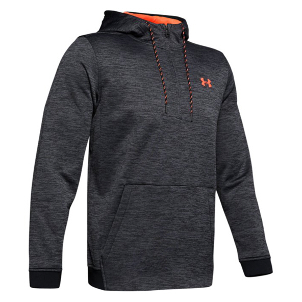 Under Armour® Fleece ½-Zip Men's Hoody, Black