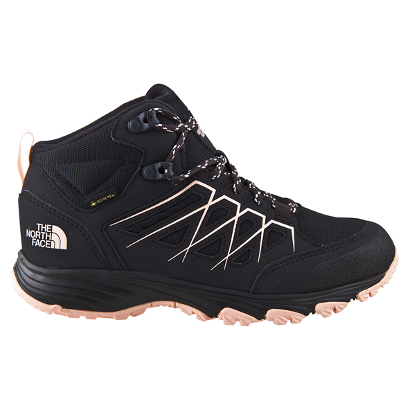 The North Face Fasthike Mid GTX Women's  Hiking Boot Grey/Pnk