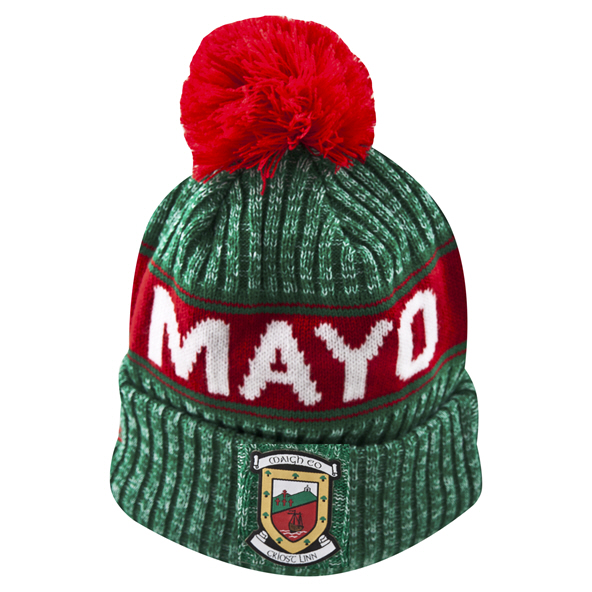 New Era Mayo Sideline Bobble Knit Green