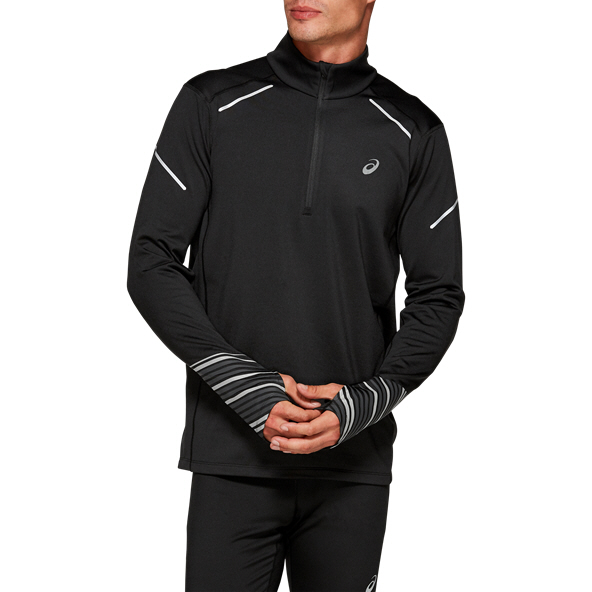 Asics Lite-Show™ 2 Winter ½- Zip Running Top, Black