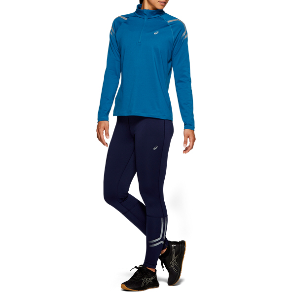 Asics Icon Winter ½-Zip LS Women's Running Top, Navy