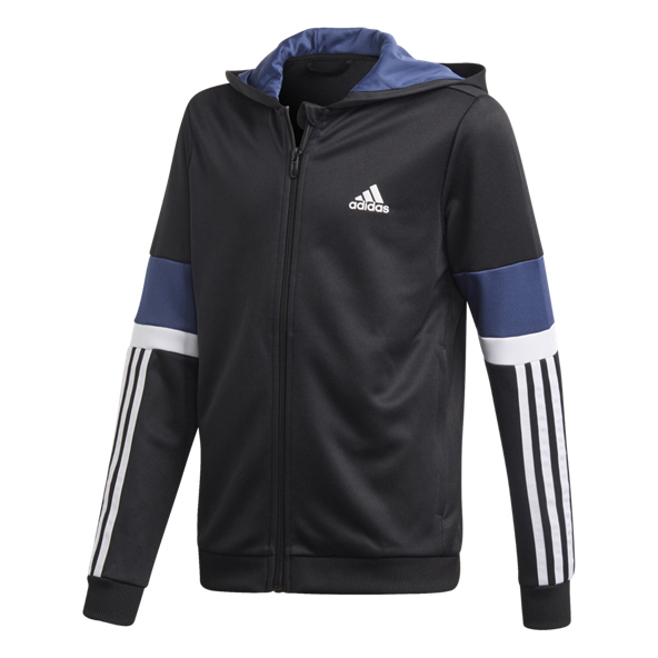 adidas Equip Boys' Full Zip Hoody, Black