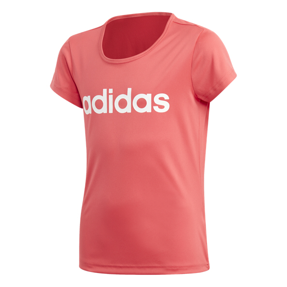 adidas Cardio Girls' T-Shirt, Pink