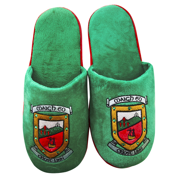 FOCO Mayo Slippers Green