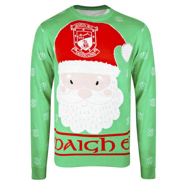 FOCO Mayo Christmas Jumper Green