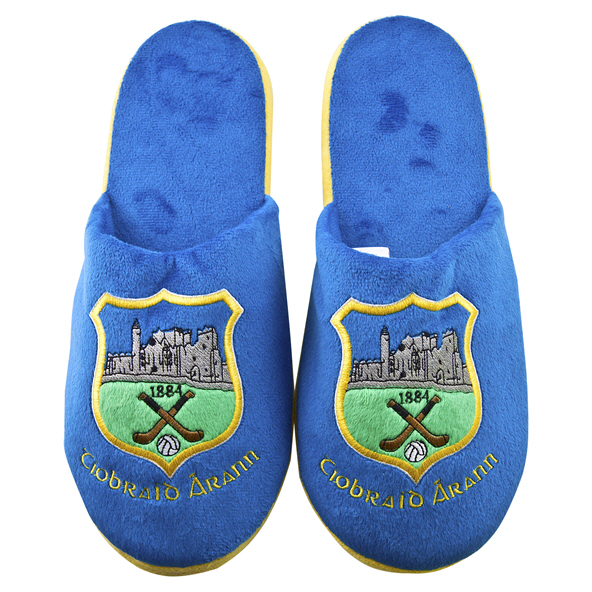 FOCO Tipperary Slippers Blue