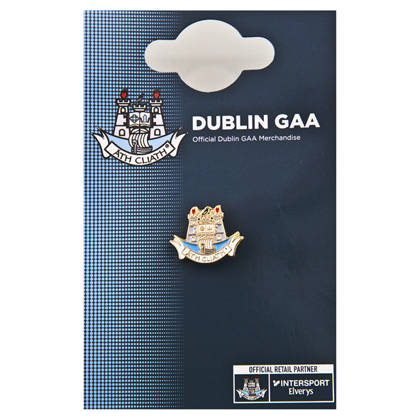 FOCO Dublin Pin Badge Blue