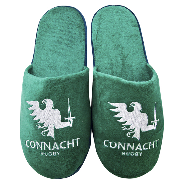 FOCO Connacht Kids Slippers Green