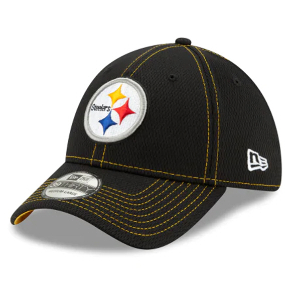 New Era 100Yr Steelers Cap Black