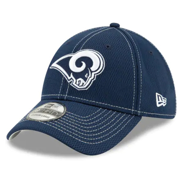 New Era 100Yr Rams Sideline Cap Blue